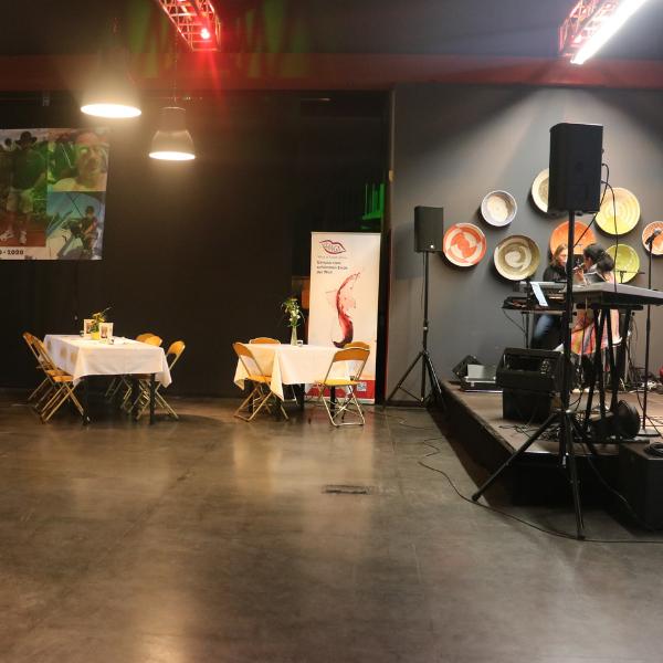 Event Location mit Band