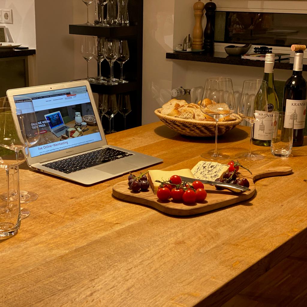 Online Weintasting